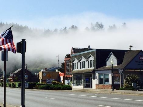 Foggy Oregon Coast morning